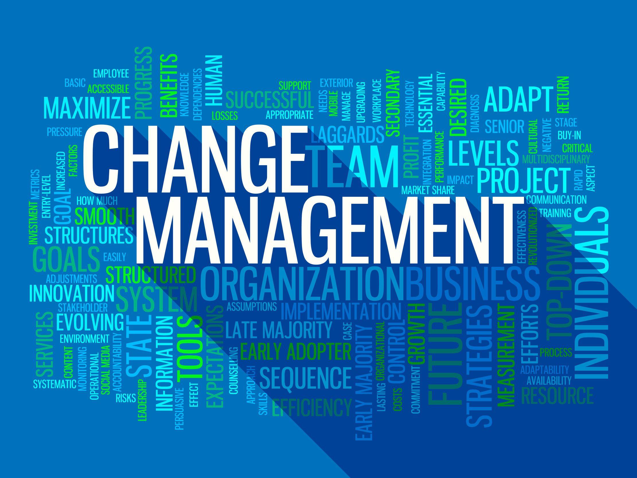 Change Management  U2013 An Introduction